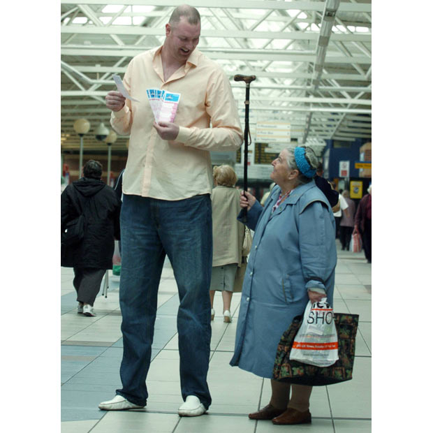 Top 10 Tallest People Currently Alive