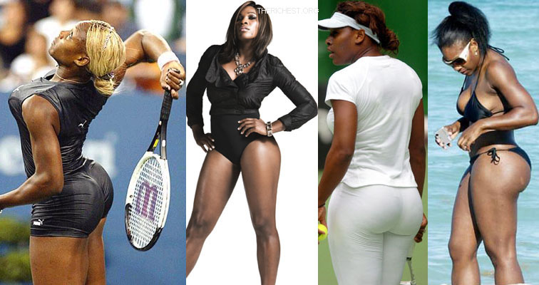 serena williams booty 11 Top 15 Celebrities With Big Butts and Buttocks