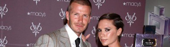 David and Victoria Beckham Have Their Fragrances in New York