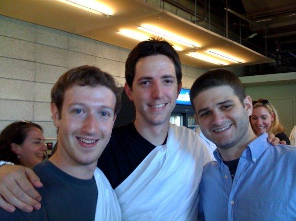 Mark Zuckerberg,and Dustin Moskovitz