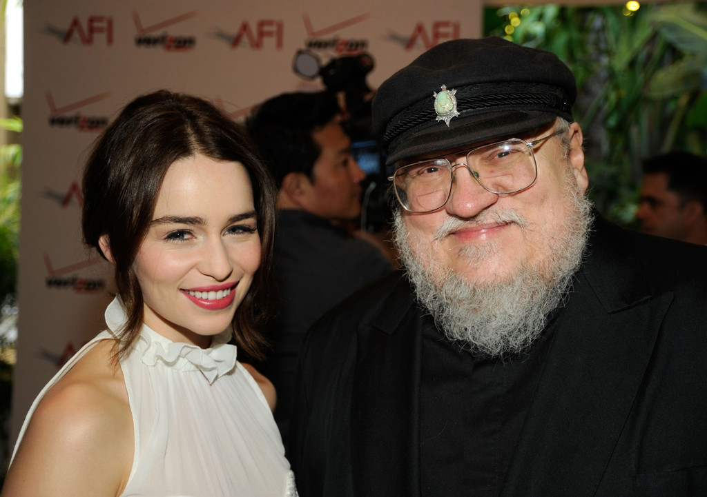 'Game of Thrones' Cast And Author George R.R. Martin at ...