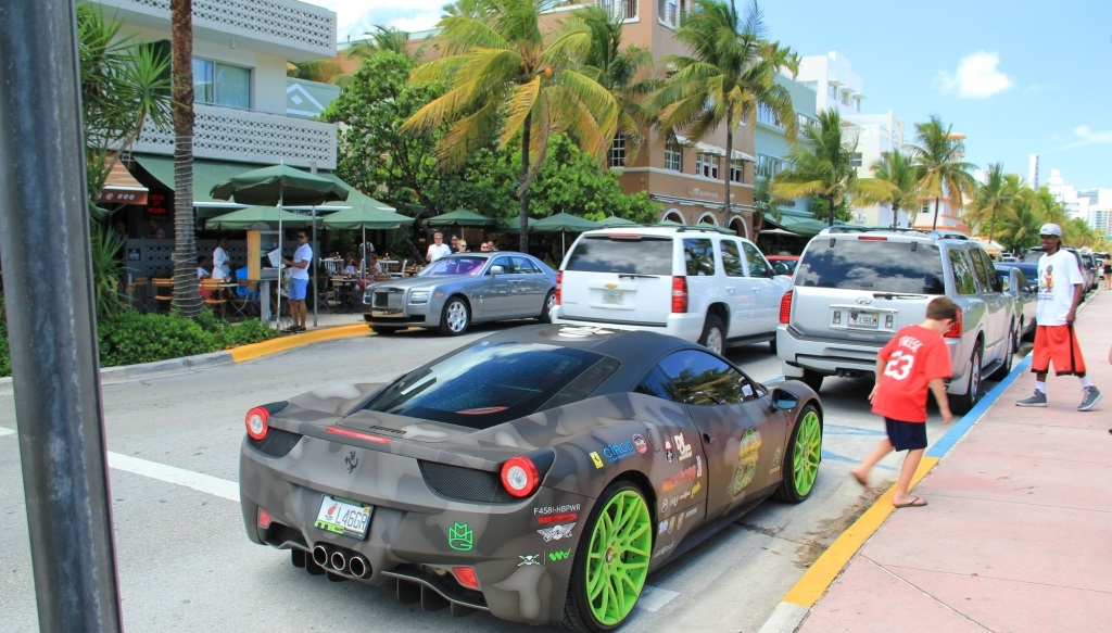 Rick Ross and his $280 000 Ferrari 458 Italia  TheRichest