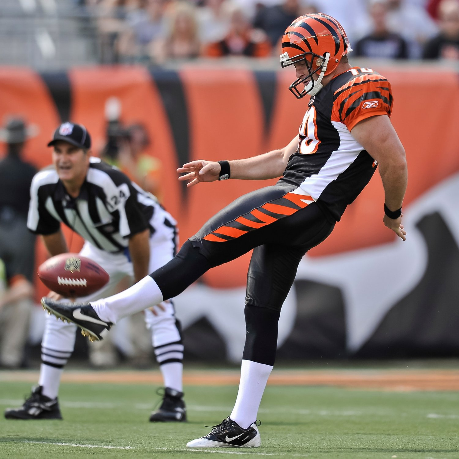examining what a kickers job is in the sport of football Nfl kickers fascinate, infuriate and have some wondering if  were out  practicing, the kicker would be in the locker room, studying  no other position in  sports has more inherent pressure associated with the job and yet.
