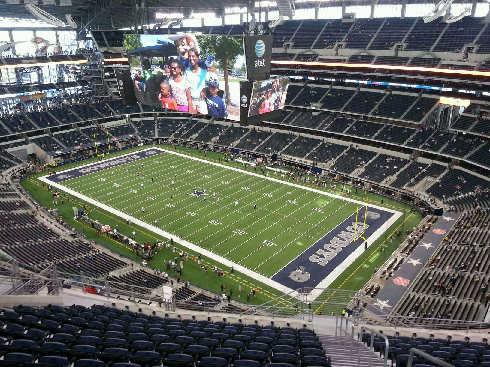 Att images frompo for Dining options at at t stadium