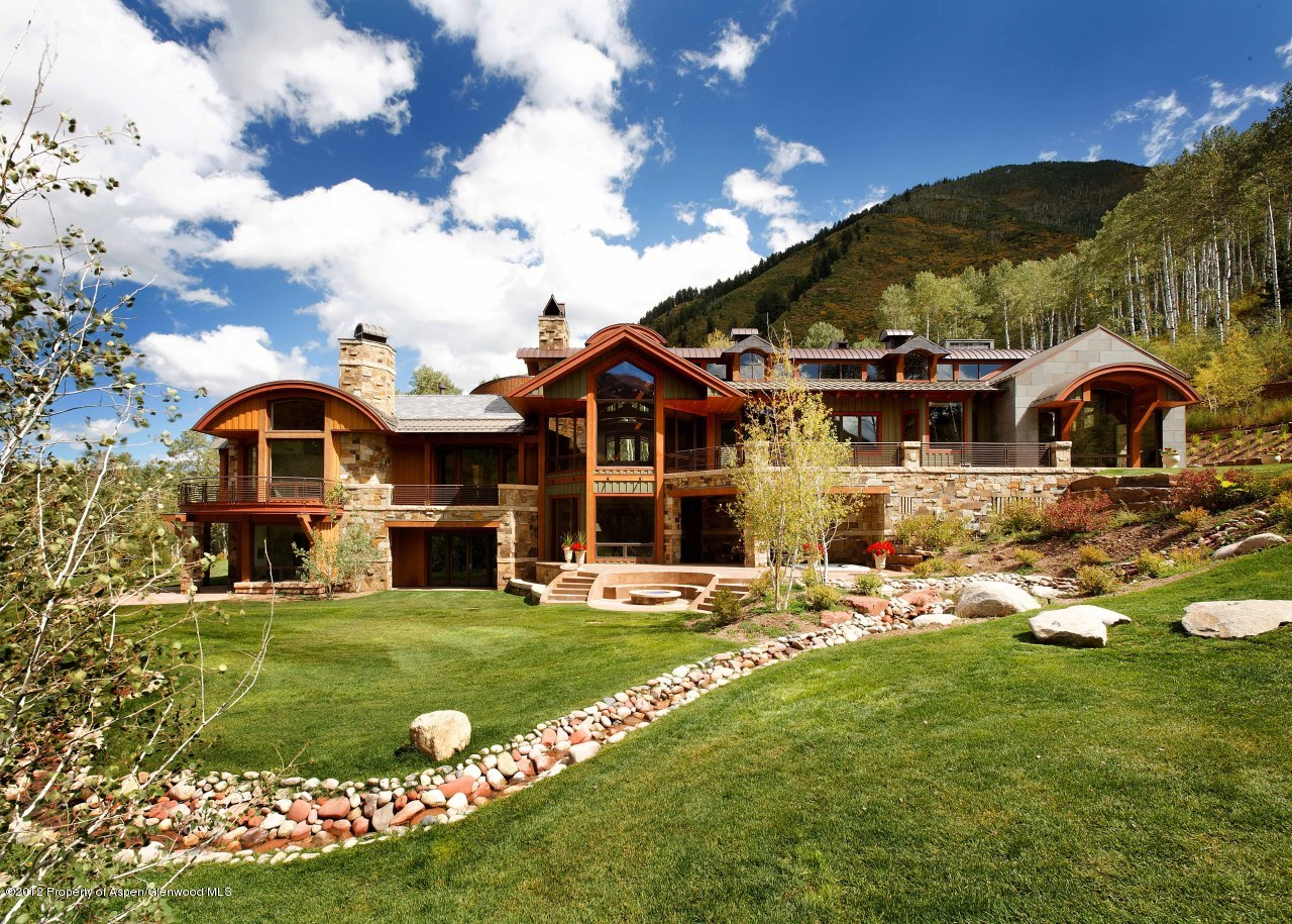 The 10 richest counties in america for Colorado mountain houses