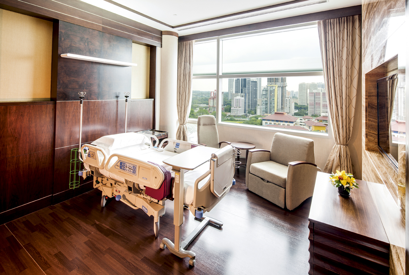 The 10 Most Luxurious Hospital Rooms In The World