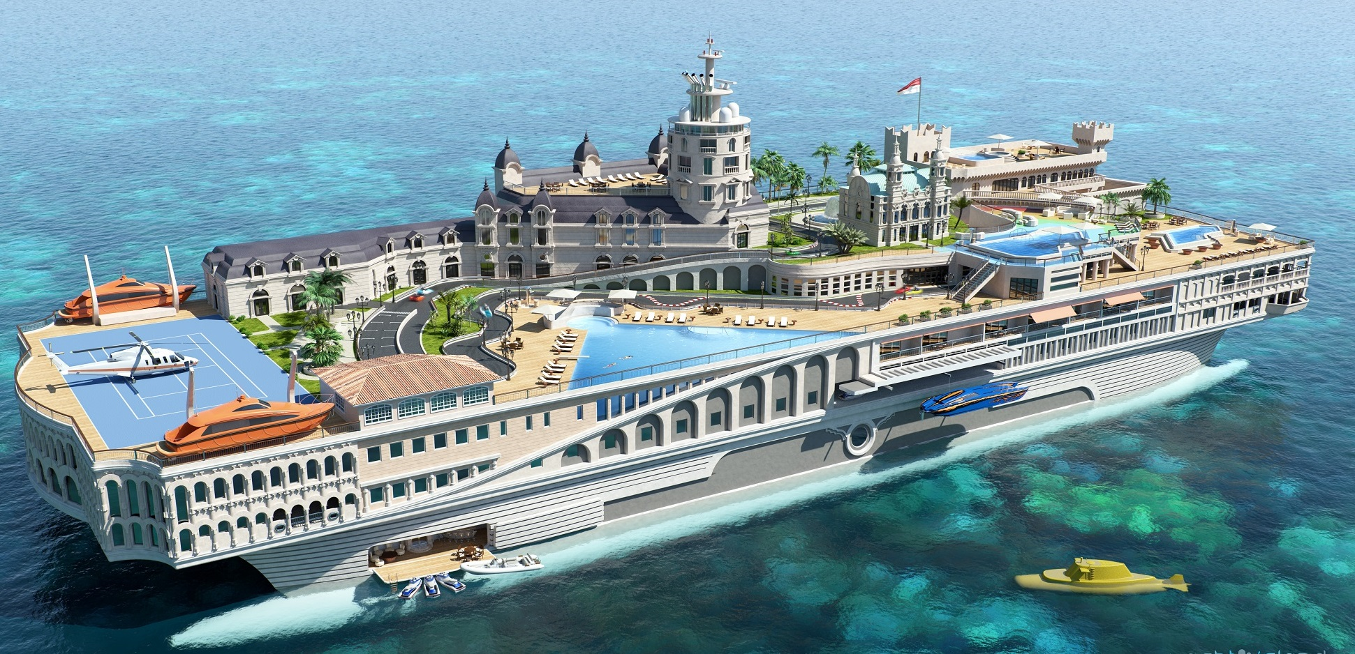 top ten yachts in the world
