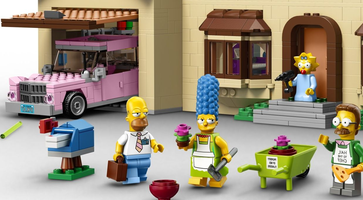 15 Of The Priciest Lego Sets On The Market Right Now Lego Simpsons House