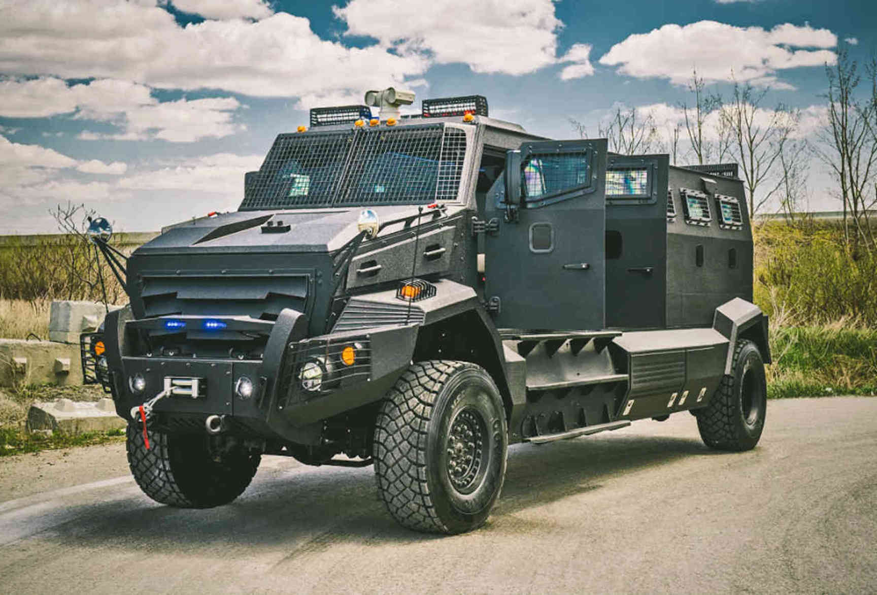 The Most Expensive Armoured Vehicles In The World - 1 million mercedes coolest armoured vehicle ever