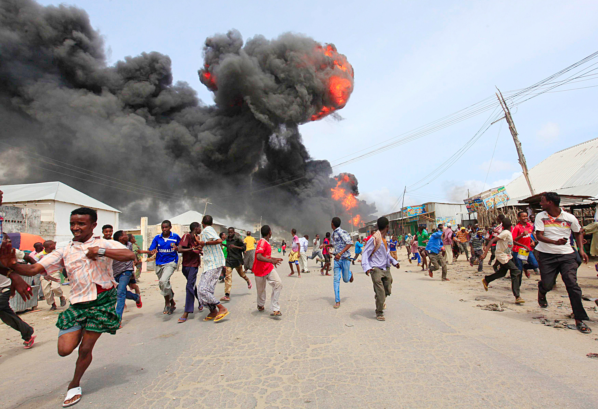 Somali police: at least 7 killed in Mogadishu bombing - Al Arabiya ...