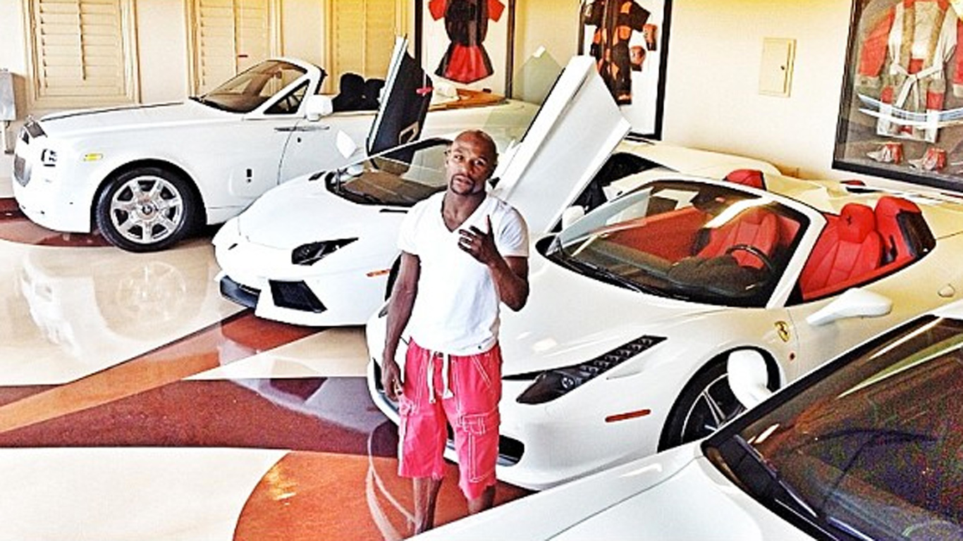 Top 10 Nicest Cars In Floyd Mayweather S Collection
