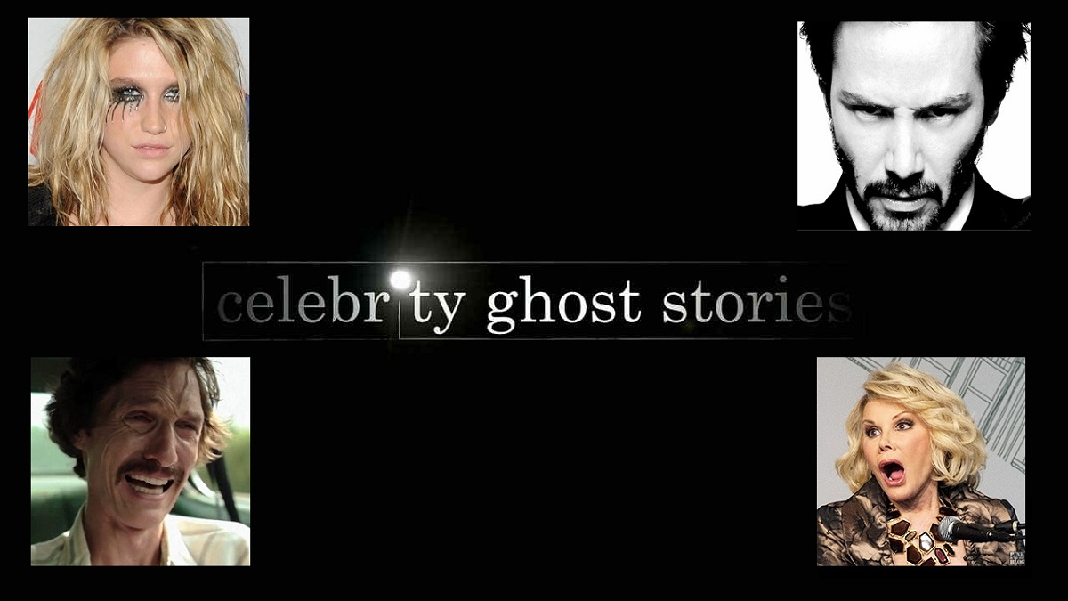 Most famous people on celebrity ghost stories