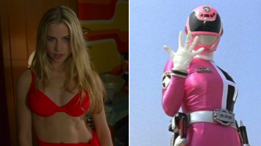 Power ranger upskirt