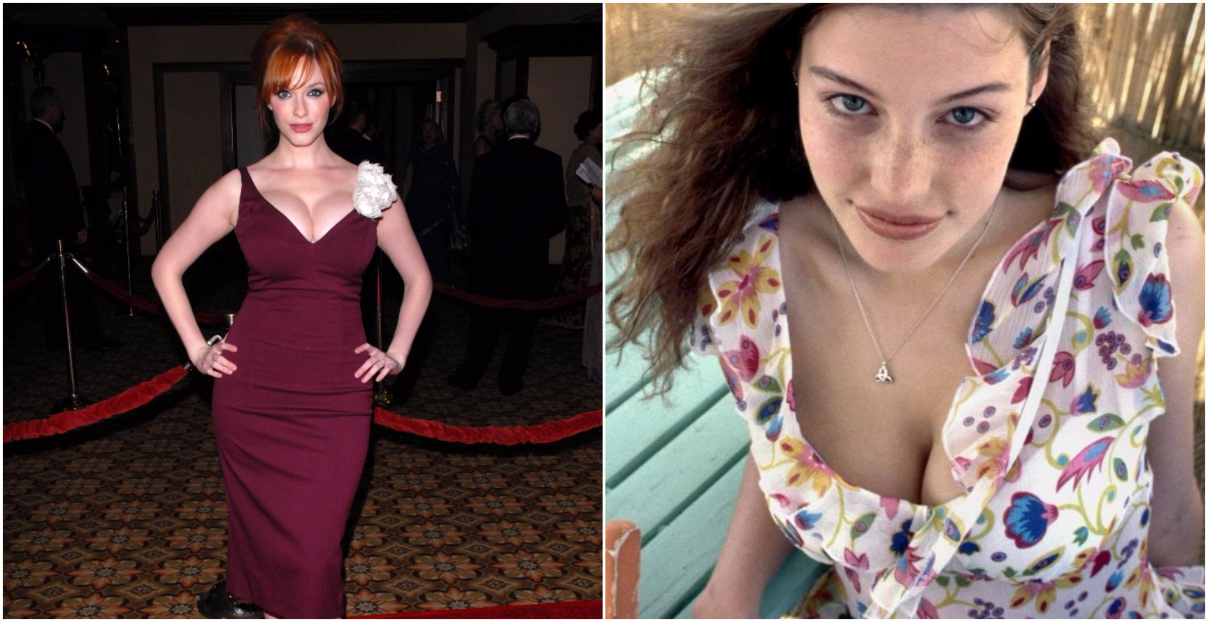 The 15 Most Voluptuous Female Celebrities in Their 30s