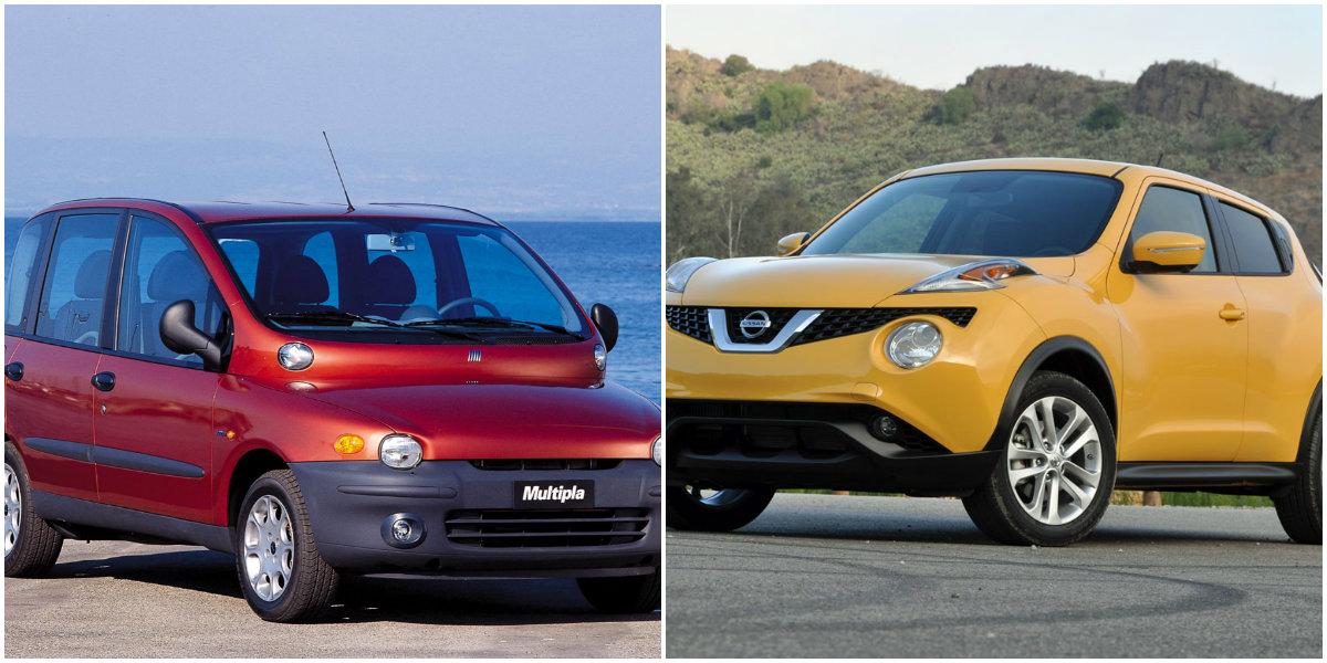 15 Modern Day Cars That Are Disgusting To Look At