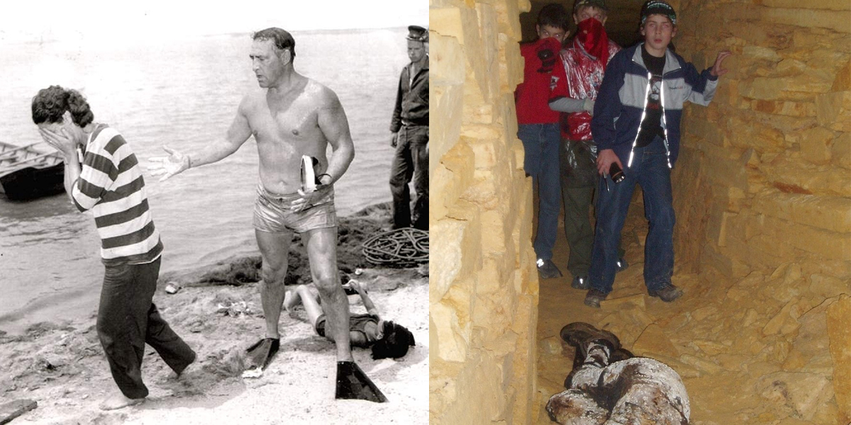 Scary Photos With Horrifying Real-Life Backstories