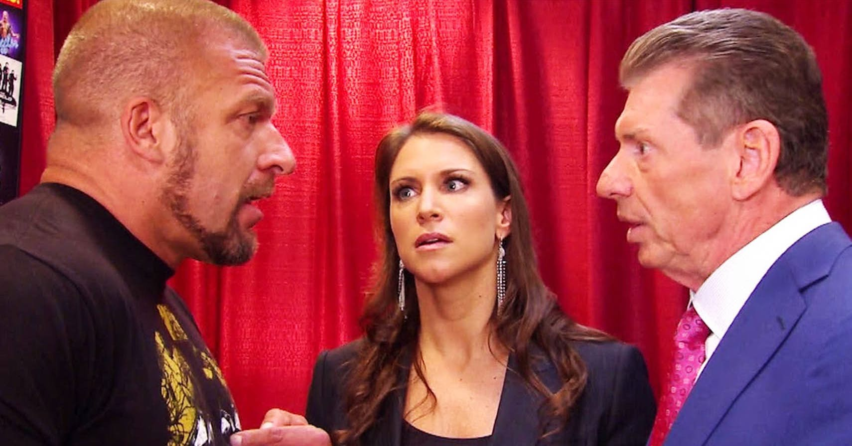 triple and vince mcmahon relationship