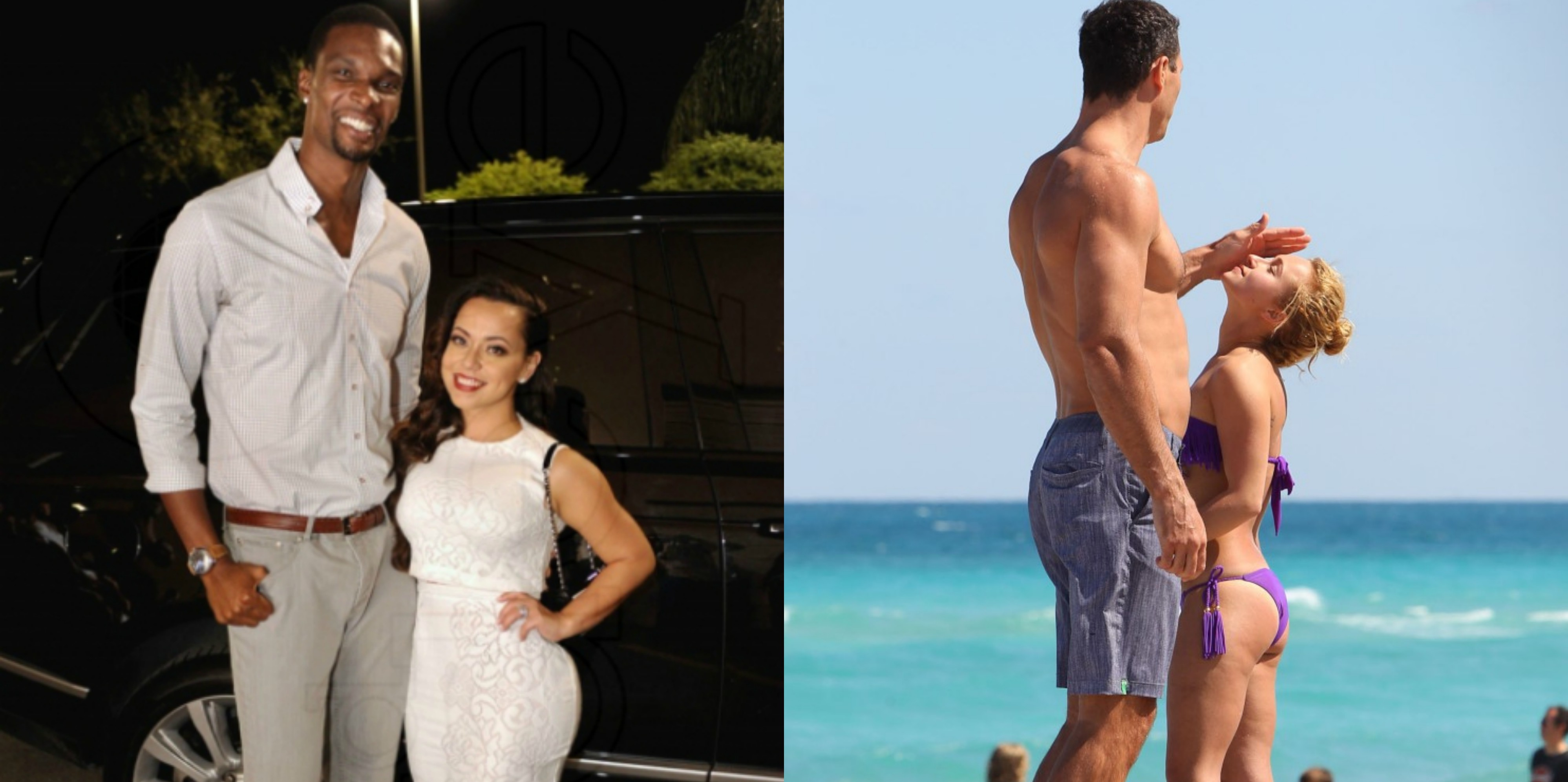 15 Athletes Who Married Hotties Half Their Size