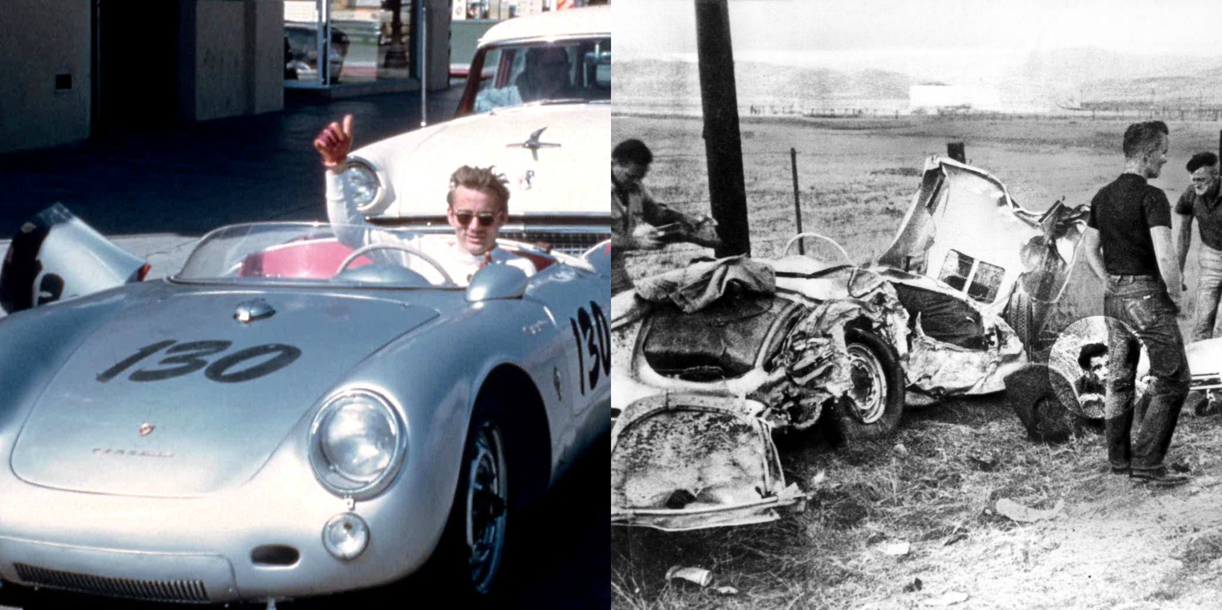 James Dean Car Crash Legend