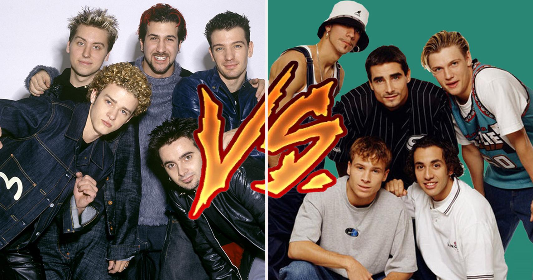 Backstreet Boys Nsync