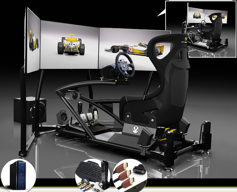 Become A Racing Car Driver With The Vesaro Simulator