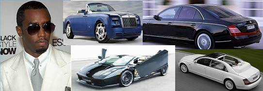 The Cars Of Sean Diddy Combs