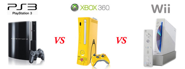 PlayStation 3 vs. Xbox 360 vs. Nintendo Wii: The Battle of ... Xbox 360 Vs Ps3 Vs Wii