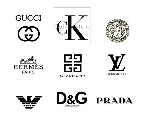 The top fashion brands in the world Branding and logo design companies